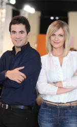 Sandrine Corman & Alex Goude lors des auditions de l'Inventeur 2012